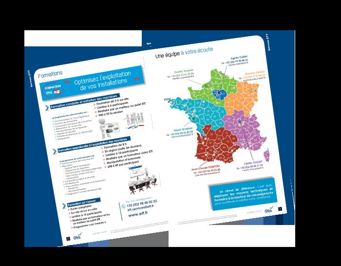 Catalogue pièces et services ETT 2018